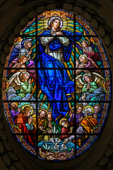 Stained Glass, Assumption of Mary