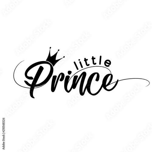 Little Prince Vector Illustration Of Little Prince