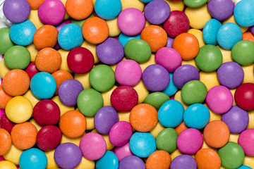 Colourful candy background.
