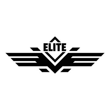 Elite force logo. Simple illustration of elite force vector logo for web design isolated on white background