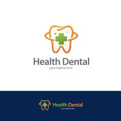 Health Dental Logo Design Template