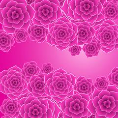 Beautiful purple rose flower background. EPS10 vector.