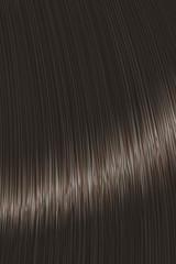 Realistic black brown straight hair lock texture