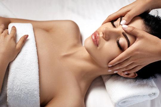 anti-aging facial massage.