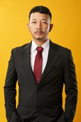 Portrait of young asian businessman