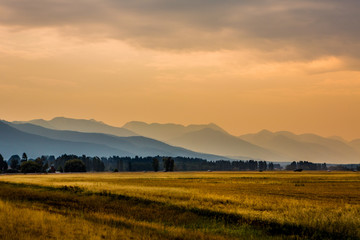 Beautiful Montana Landscape
