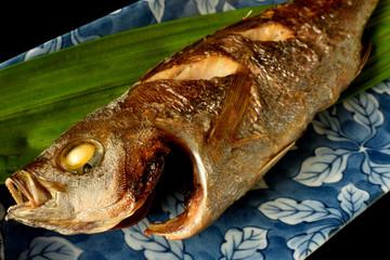 焼き魚 イサキの塩焼き