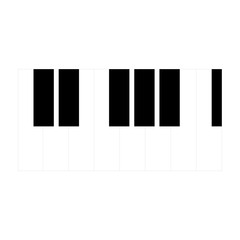 Piano Icon. Vector EPS 10