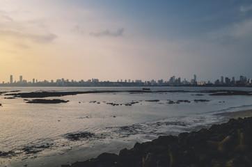 Mumbai Skyline from Marine Drive