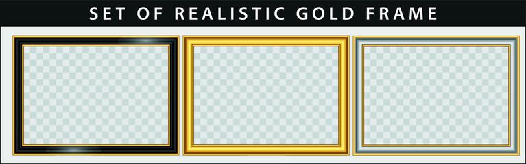 set of gold frame set. easy to modify