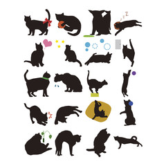 黒猫イラスト