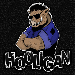 Boar - hooligan on the texture of the skin.