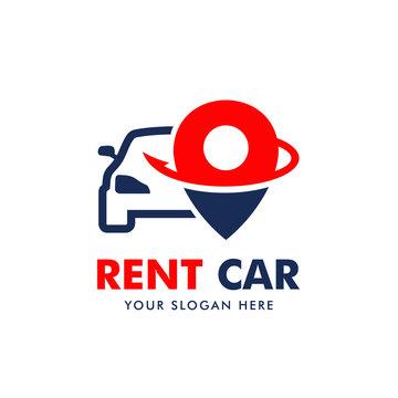 Rent Car Logo Vector