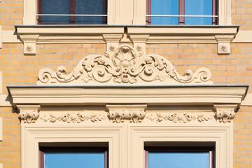 Stuck, Fassade, Fenster