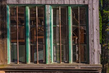 Altes Holzkastenfenster