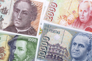 Old money from Spain, a background
