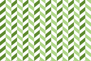 Seamless pattern - slant (oblique) opposite dark and light green lines on white background, imitation of corners