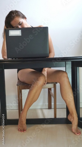 Y Legs Under Table Stock Photo And Royalty Free Images On Fotolia Pic 210664626