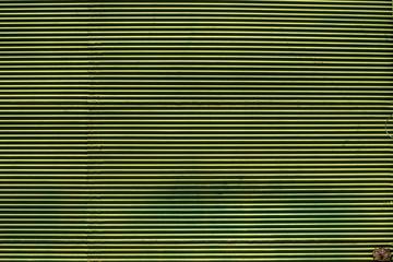 Strong green metal texture.