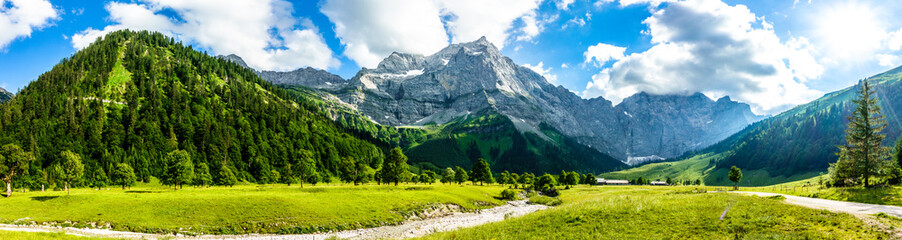 karwendel mountains Wall mural