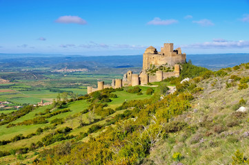 Castillo de Loarre in Aragonien, Spanien - Castillo de Loarre near Huesca, Aragon