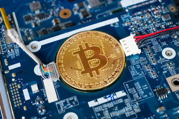 Bitcoin in motherboard