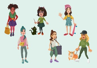 Female Characters 2