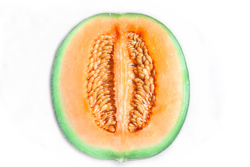 Fresh honeydew fruit, Cantaloupe melon