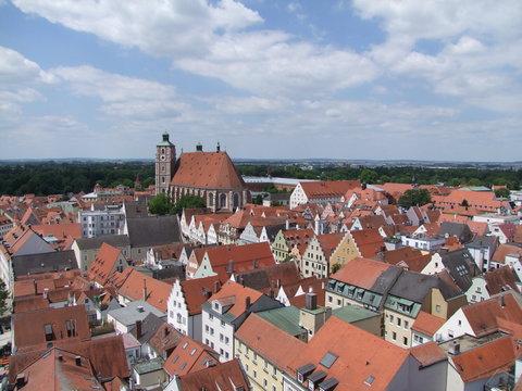 Altstadt Ingolstadt in Bayern