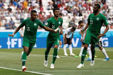 World Cup - Group A - Saudi Arabia vs Egypt