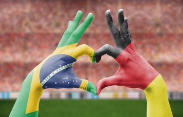 Freundschaft Brasilien / Deutschland