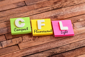 post-it acronym : CFL