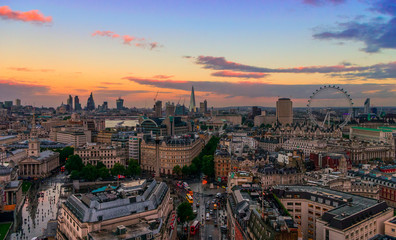 The London Skyline Panoramic
