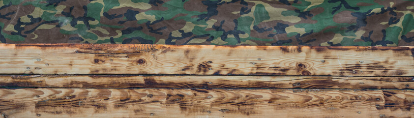 old worn military background, wooden texture