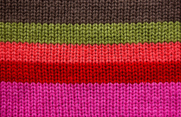texture of woolen clothes