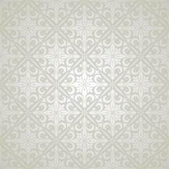 Beautiful silver elegant pattern. Vector wallpaper background
