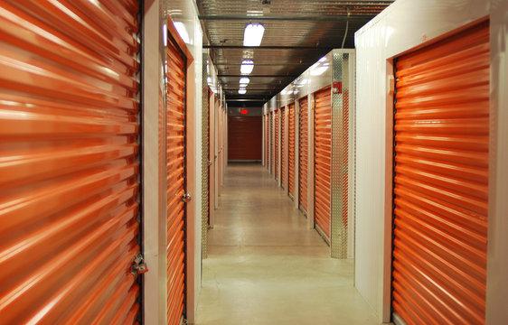 Inside Storage Unit Hallway