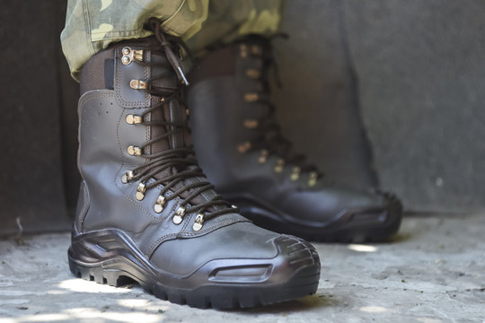 Army uniform military boots and pants