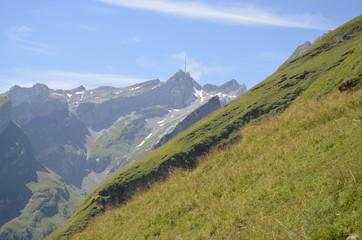 Switzerland Mountains in Spring Appenzell