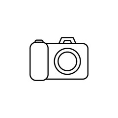 The icon of picture. Simple outline icon illustration,  of picture for a website or mobile application