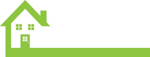 Green Real Estate Logo