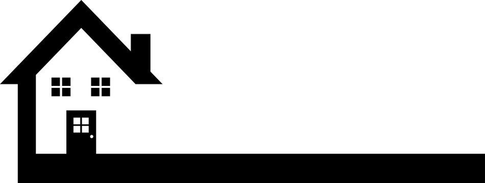 Black Real Estate Logo