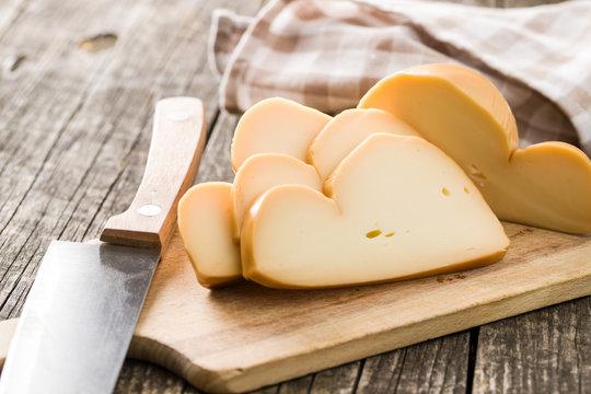 Scamorza, italian smoked cheese.