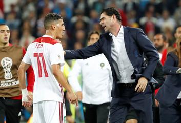 World Cup - Group B - Spain vs Morocco