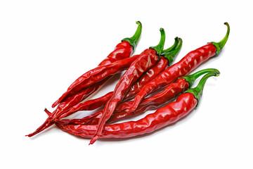 Red hot natural chili pepper pod
