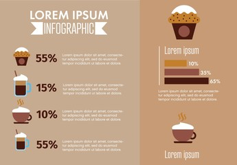 Coffee Infographic Layout
