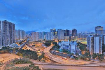 a kowloon bay area at hong kong