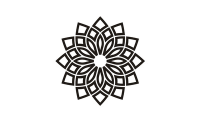 Floral Pattern Logo design inspiration
