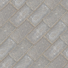 Seamless photo texture of pavement tile from stone blocks