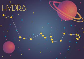 The constellation Hydra